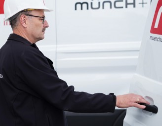 Münch+Münch Menu Leistungen Store Services